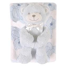Blanket Toy Set - Blue Bear
