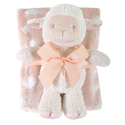 Blanket Toy Set - Pink Lamb