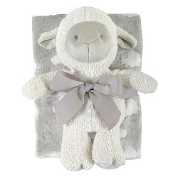 Blanket Toy Set - Gray Lamb