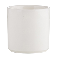 Ceramic Dip Dish - White