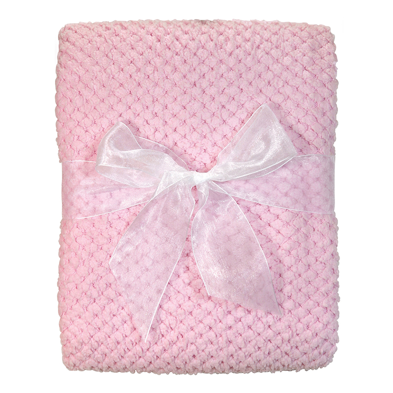 Fleece Blanket - Pink Corn