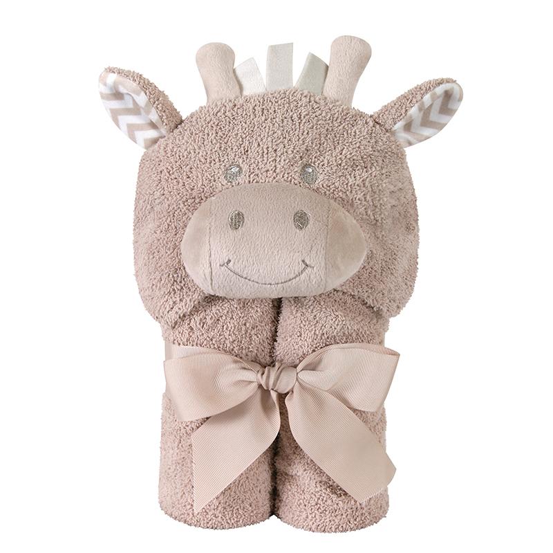 Hooded Towel - Giraffe