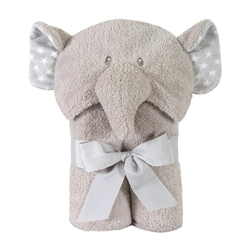 Hooded Towel - Elephant