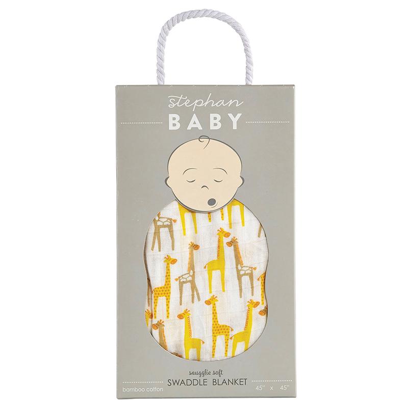 Swaddle Blanket - Giraffe