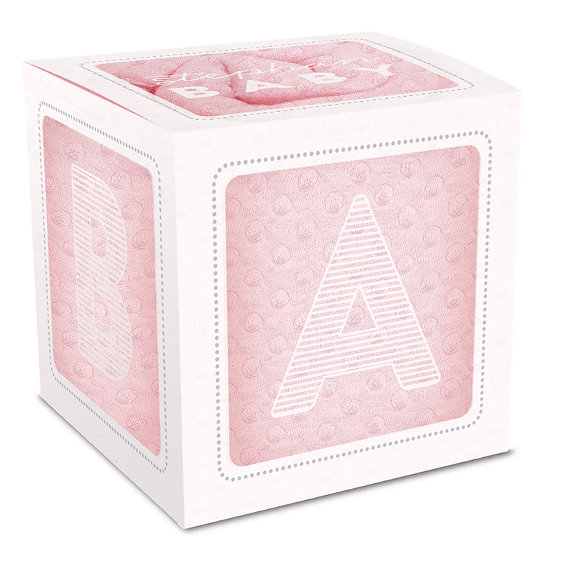 Bumpy Blanket Gift Set - Pink