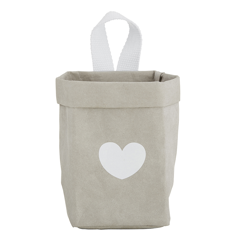 Washable Paper - Mini - Gray Heart