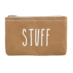 Washable Paper Pouch - Stuff