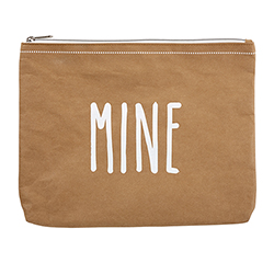 Washable Paper Pouch - Mine