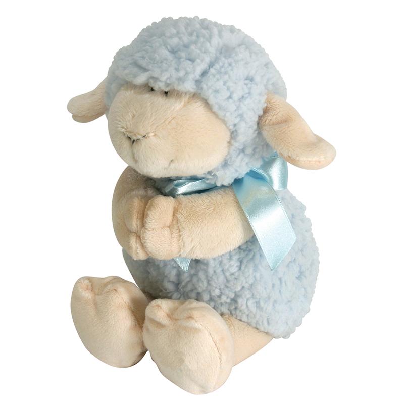 Praying Lamb - Blue