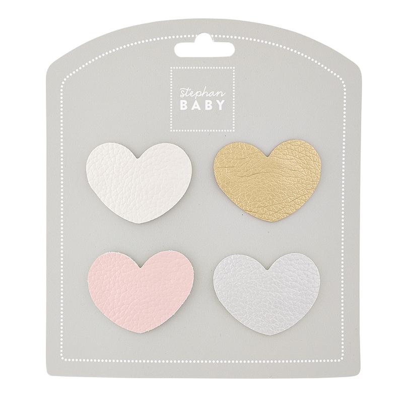 Barrette Set - Heart