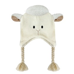 Knit Hat - Lamb, 6-24 months
