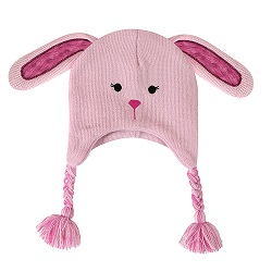 Knit Hat - Bunnie, 6-24 months
