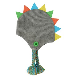 Knit Hat - Dinosaur, 6-24 months