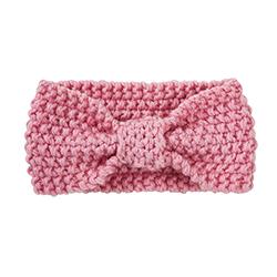 Knit Headband - Pink, 6-12 months