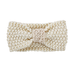 Knit Headband - Cream, 6-12 months