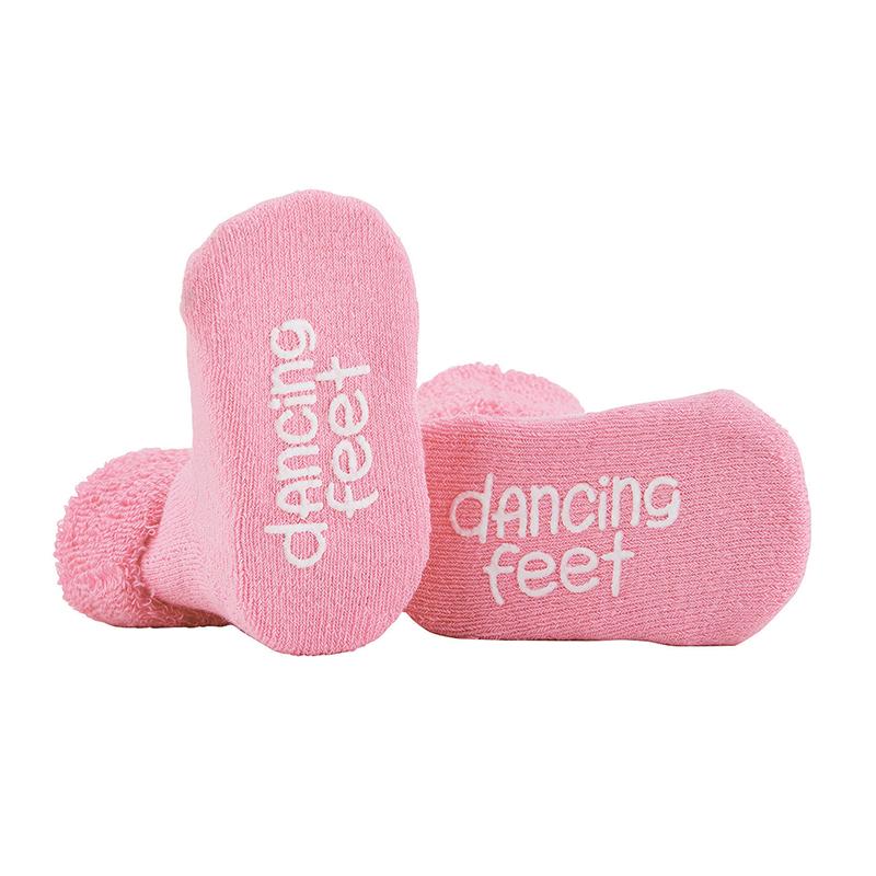 Socks - Pink - Dancing Feet, 3-12 months