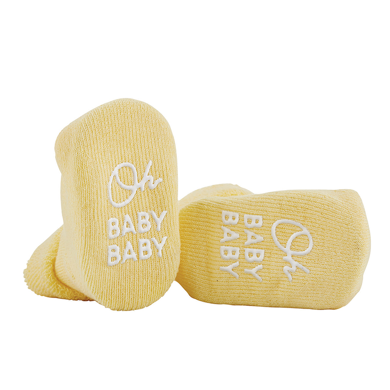 Socks - Yellow - Oh Baby Baby, 3-12 months