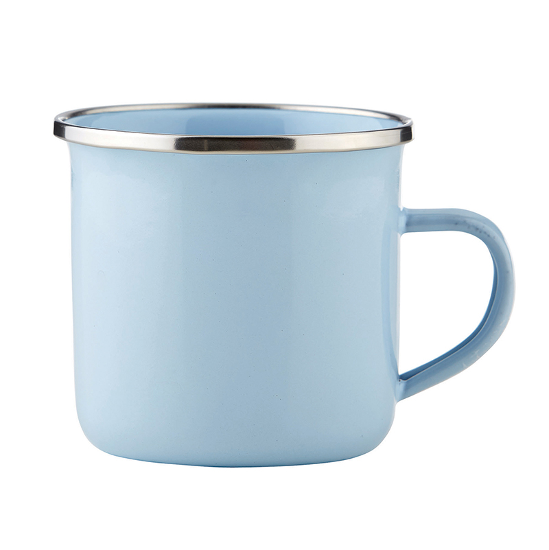 Heirloomed Enamel Cup - Blue
