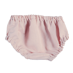 Heirloomed Bloomers - Pink, 6-12 months