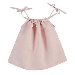 Heirloomed Smock Top - Pink, 6-12 months