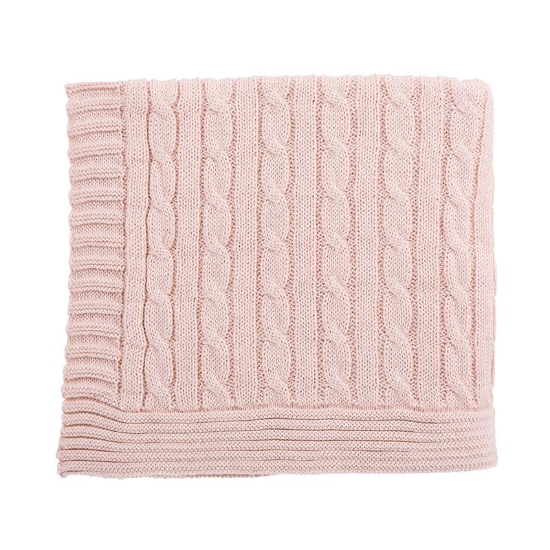 Heirloomed Sweater Blanket - Pink