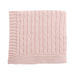 Heirloomed Sweater Blanket - Pink