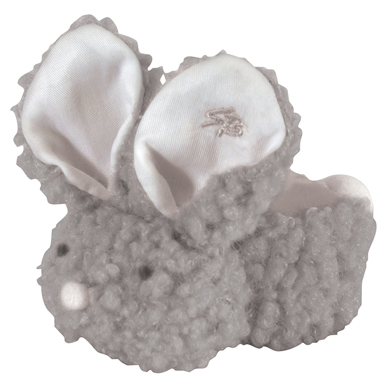 Boo-Bunnie® - Gray Woolly - 6pcs