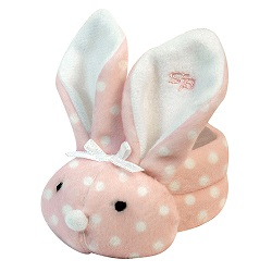 Boo-Bunnie® - Pink Dot - 6pcs
