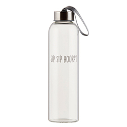 Water Bottle - Sip Sip Hooray