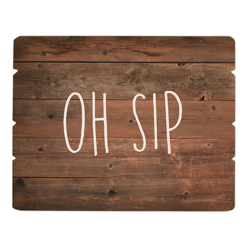 Tray Sign - Oh Sip