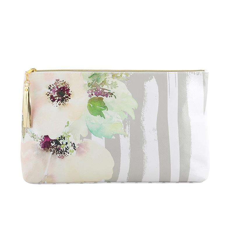 Oil Cloth Bag - Large - Floral