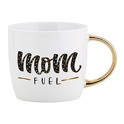 Gold Handle Mug - Mom Fuel