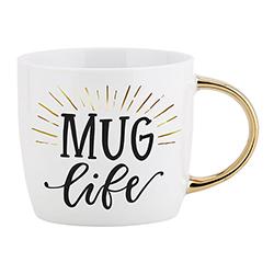 Gold Handle Mug - Mug Life
