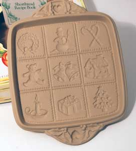 SALE Xmas Shortbread Pan