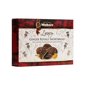 Ginger Royals Chocolate Shortbread