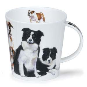 Border Collie Dogs & Puppies Dunoon Bone China Mug
