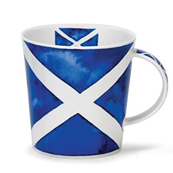 Saltire Bone China Dunoon Mug