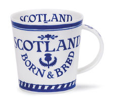 Born & Bred in Scotland Dunoon Bone China Mug
