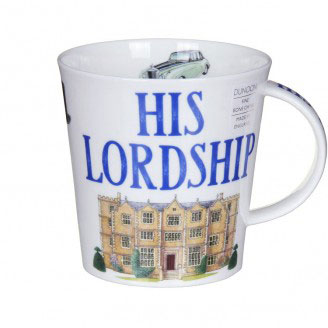 His Lordship Bone China Mug