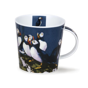 Watercolor Puffin Mug from Dunoon