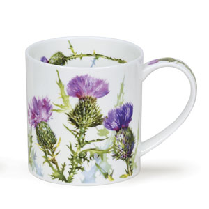 Scottish Thistle Dunoon Mug
