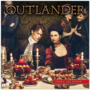 Outlander Mini 2018 Wall Calendar