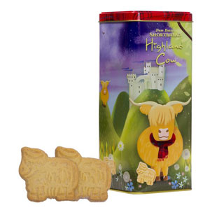 Walkers Highland Cow Shortbread Tin