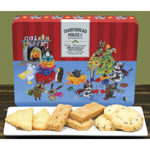 Christmas Fun Shortbread TIn