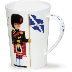 Scotland On Guard Oversized Dunoon Mug