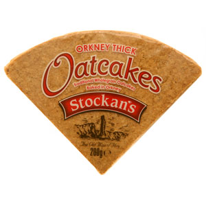 Stockan's Thick Oatcakes - pack of eight