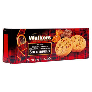 Salted Caramel Chocolate Chunk Shortbread by Walkers