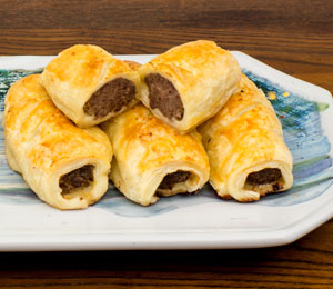 Sausage Rolls - now precooked - set of 4