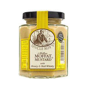 Moffat Mustard with Honey and Malt Whisky