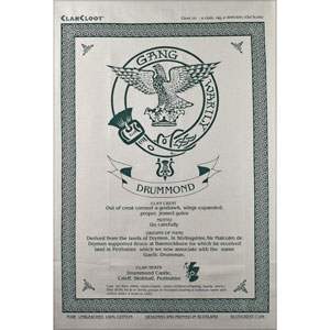 Drummond Clan Teatowel